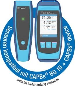 Sensoren kompatibel mit CAPBs® BG 10 + CAPBs® device